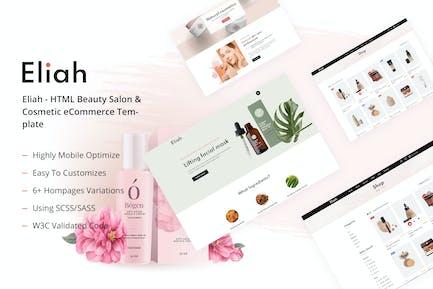 Eliah - HTML Beauty Salon & Cosmetic eCommerce