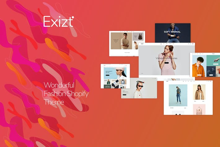 Cover Image For Exist - Drag & Drop Responsive Shopify Tema