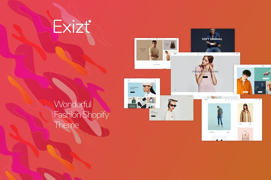Exist - Drag & Drop Responsive Shopify Theme
