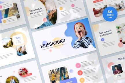 Kindergarten and Preschool Keynote Template