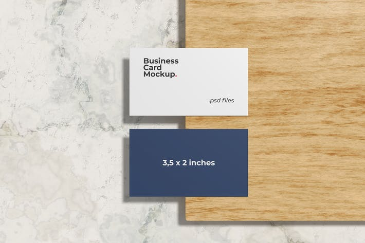 Thumbnail for Classic Business Card Mockups
