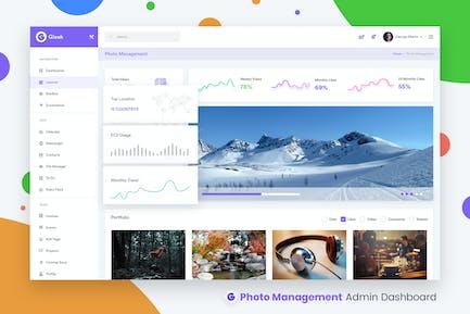 Photos Management Admin Dashboard UI Kit