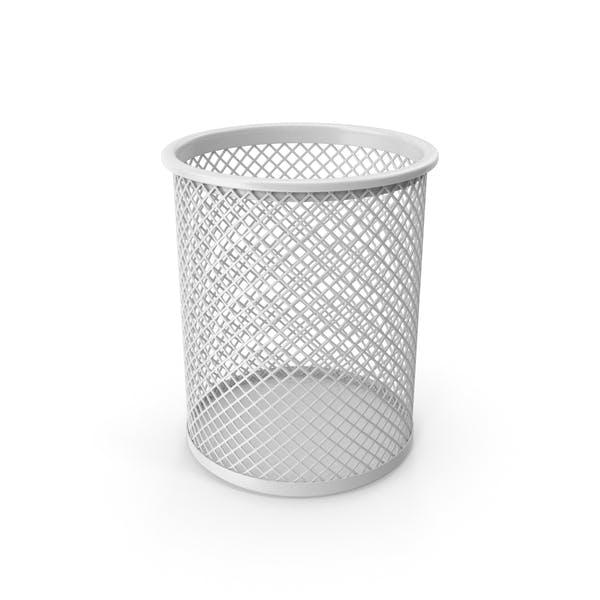 Taza de Lápiz Blanco