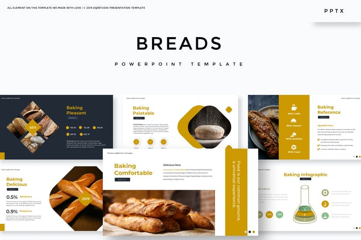 Хлеб - Шаблон Powerpoint
