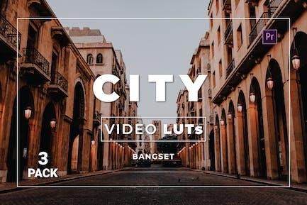 Bangset City Pack 3 Video LUTs
