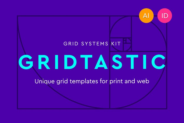 Gridtastic Grid Kit By Dominiklevitsky On Envato Elements
