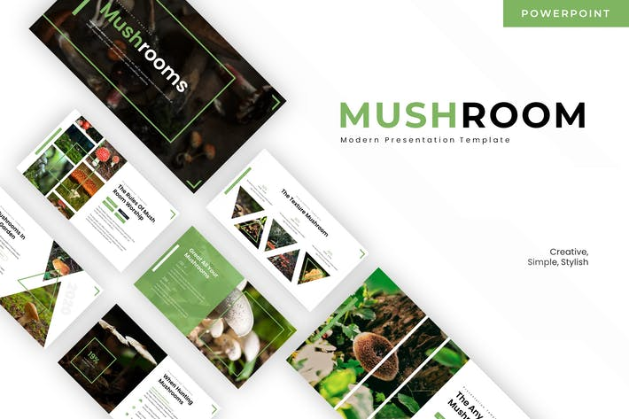 Thumbnail for Mushroom - Powerpoint Template