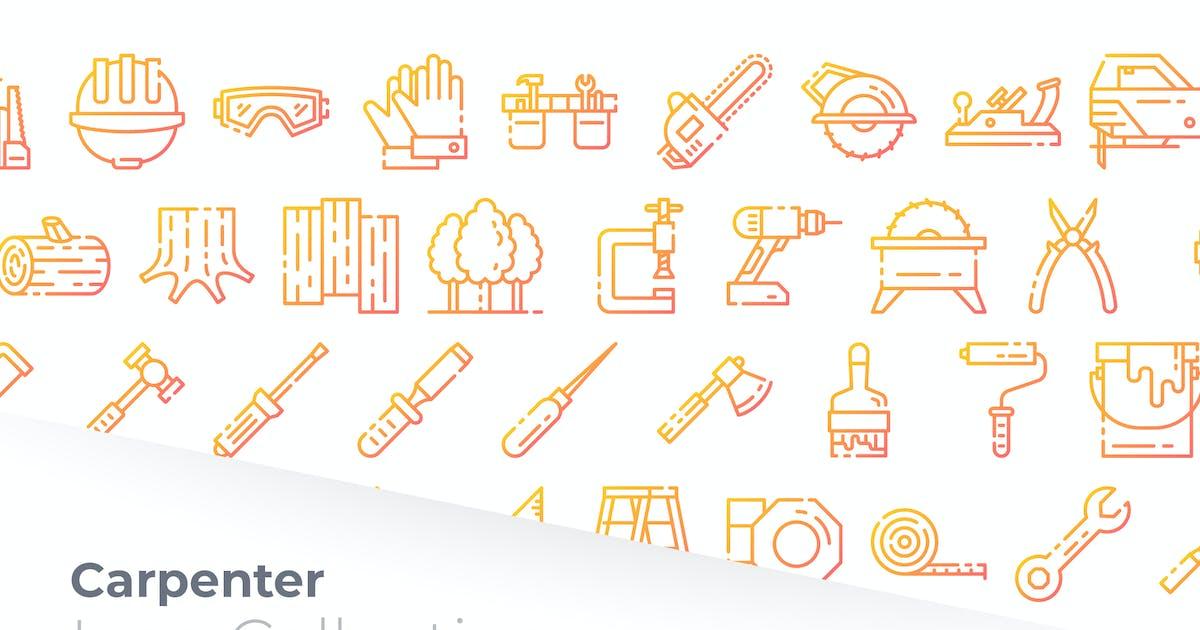 Download Carpenter Gradient Icon by GoodWare_Std
