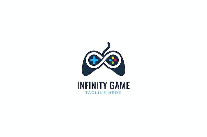 Thumbnail for Шаблон логотипа игры бесконечности