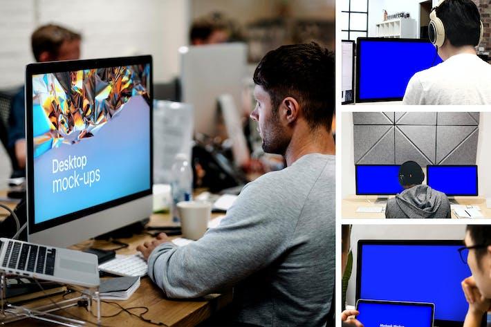 Thumbnail for Desktop Mock-Up