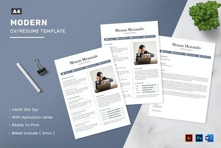 CV Resume & Letter Template