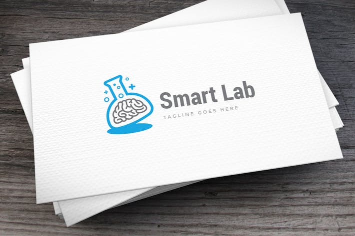 Thumbnail for Smart Lab Logo Template
