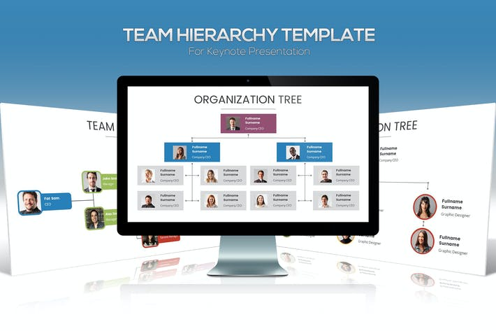 Thumbnail for Team Hierarchy for Keynote Presentation