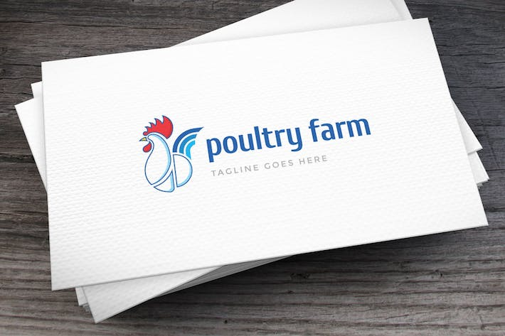 Thumbnail for Poultry Farm Logo Template
