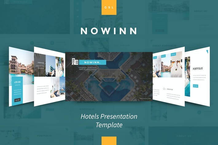 Thumbnail for nowInn - Hotel Google Slides Presentation