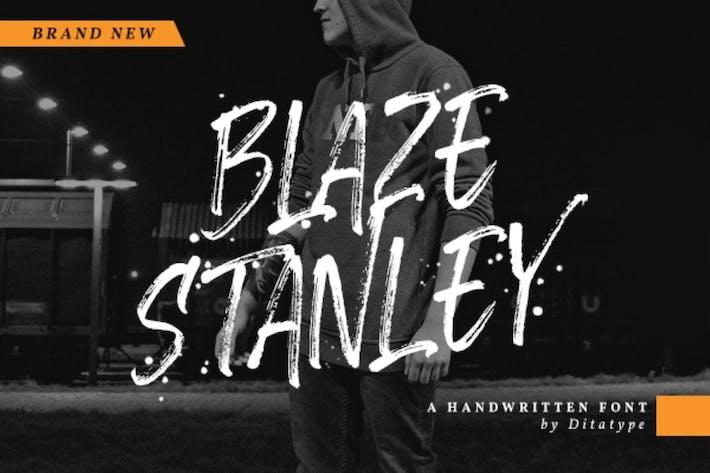 Thumbnail for Blaze Stanley-Casual Fuente manuscrita
