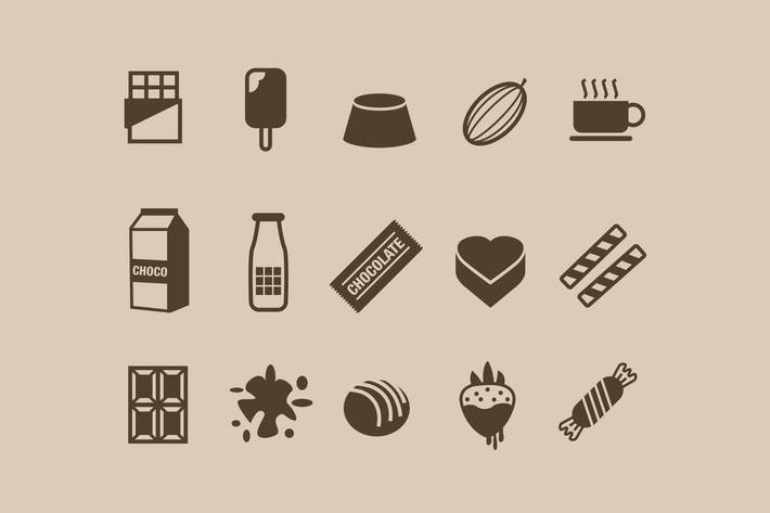 Thumbnail for 15 Chocolate Icons