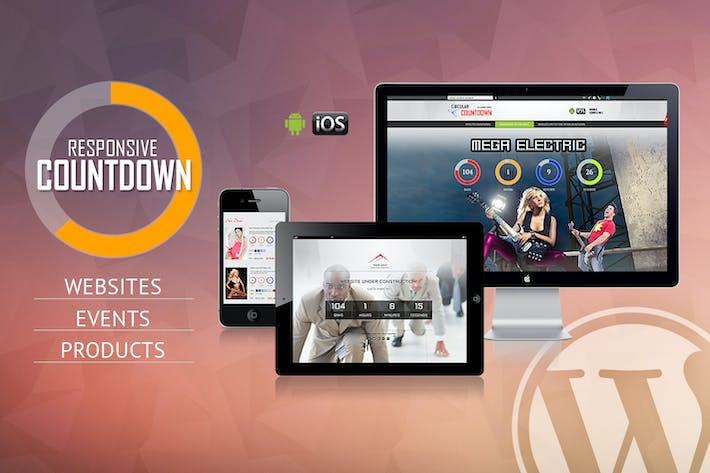 Thumbnail for CountDown Pro WP Plugin - WebSites/Products/Offers