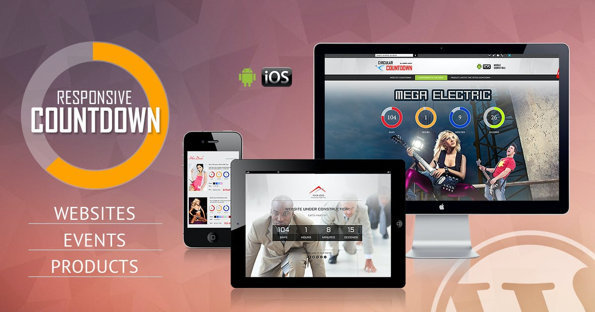 Download CountDown Pro WP Plugin - WebSites/Products/Offers by LambertGroup