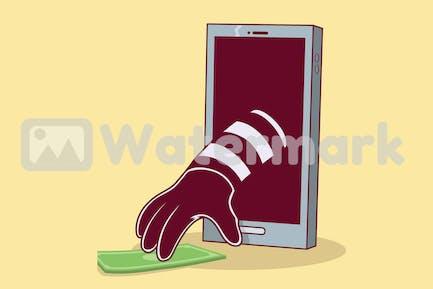 Smartphone Burglar