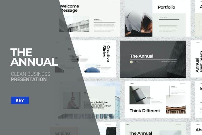 Thumbnail for The Annual - Keynote Presentation