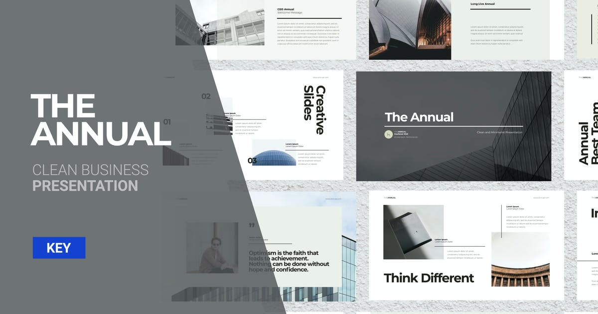 Download The Annual - Keynote Presentation by celciusdesigns