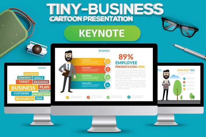Thumbnail for Tiny Business Keynote Present