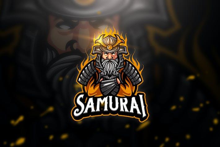 Thumbnail for Samurai 4 - Mascot & Esport Logo