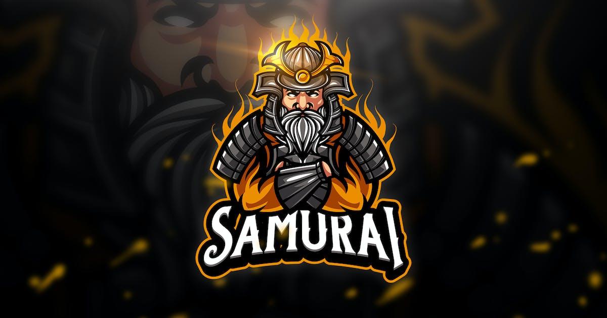 Download Samurai 4 - Mascot & Esport Logo by aqrstudio