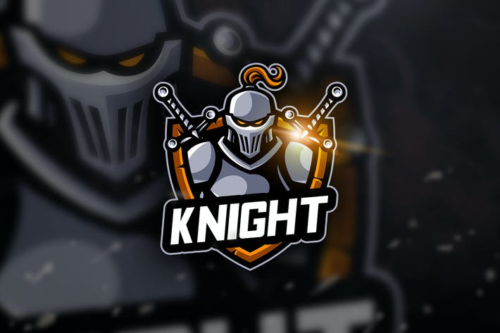 Thumbnail for Knight - Mascot & Esport Logo