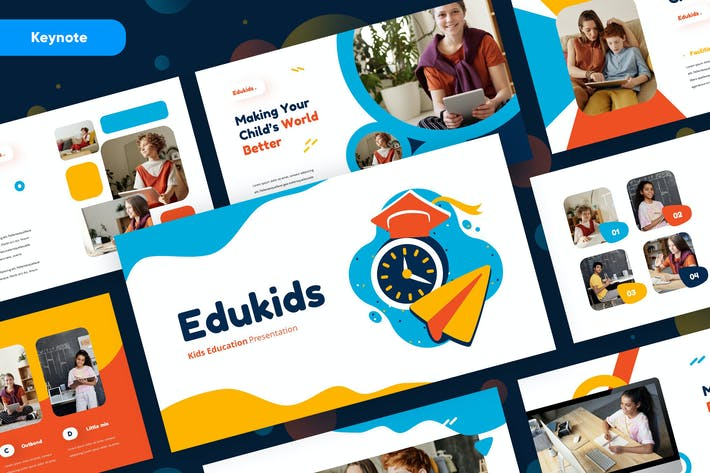 Thumbnail for Edukids - Education Kids Keynote Presentation
