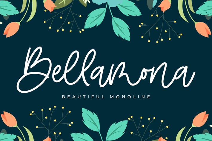 Thumbnail for Bellamona - Beautiful Monoline