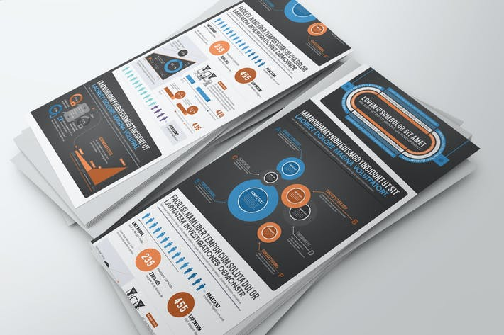 Thumbnail for Infographics Template – Data Representation