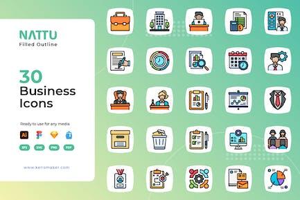 Nattu - Business Icons
