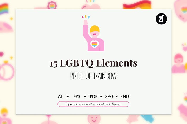 Thumbnail for 15 LGBTQ elements