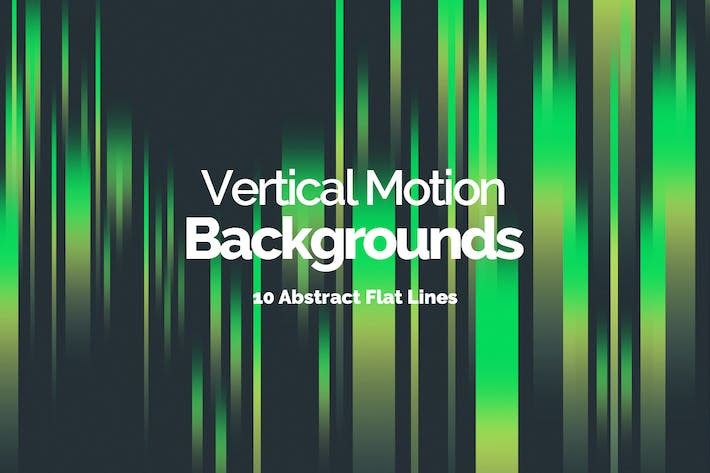 Thumbnail for Flat Vertical Motion Lines Backgrounds