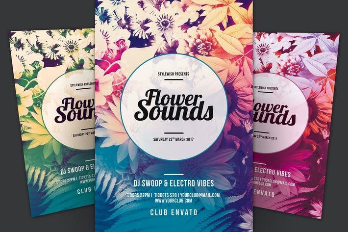 Thumbnail for Flower Sounds Flyer