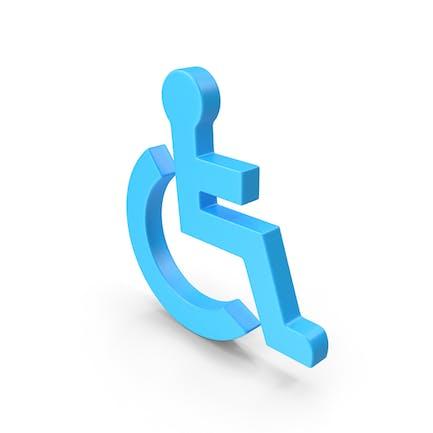 Веб-значок инвалидной коляски
