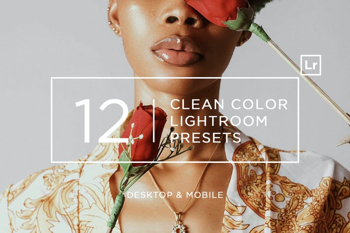Cover Image For 12 Clean Color Lightroom Presets + Mobile