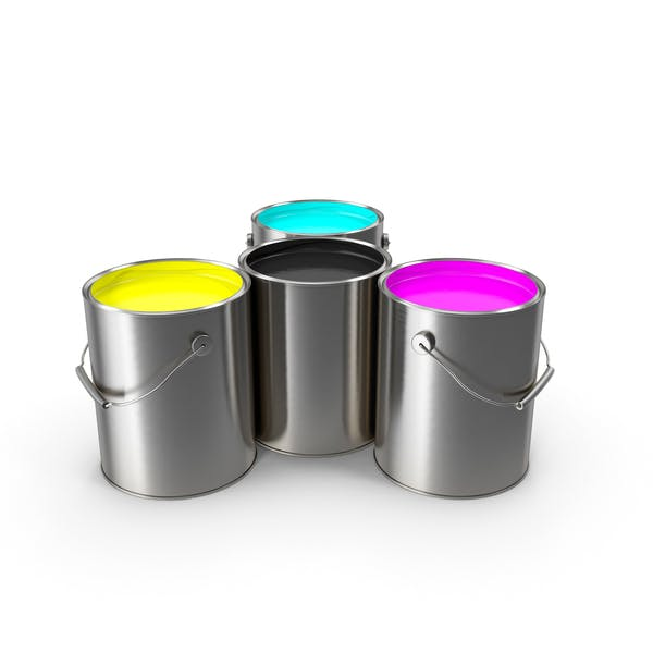 Cover Image for Paint Cans CMYK