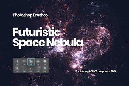 Space Nebula Photoshop Brushes