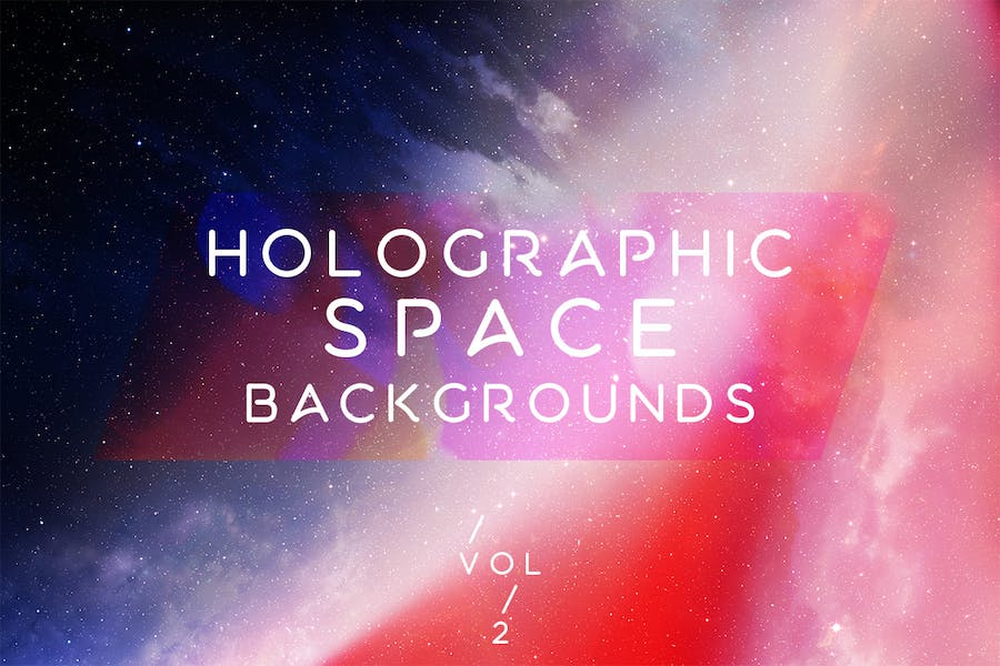 Holographic Space Backgrounds Vol.2