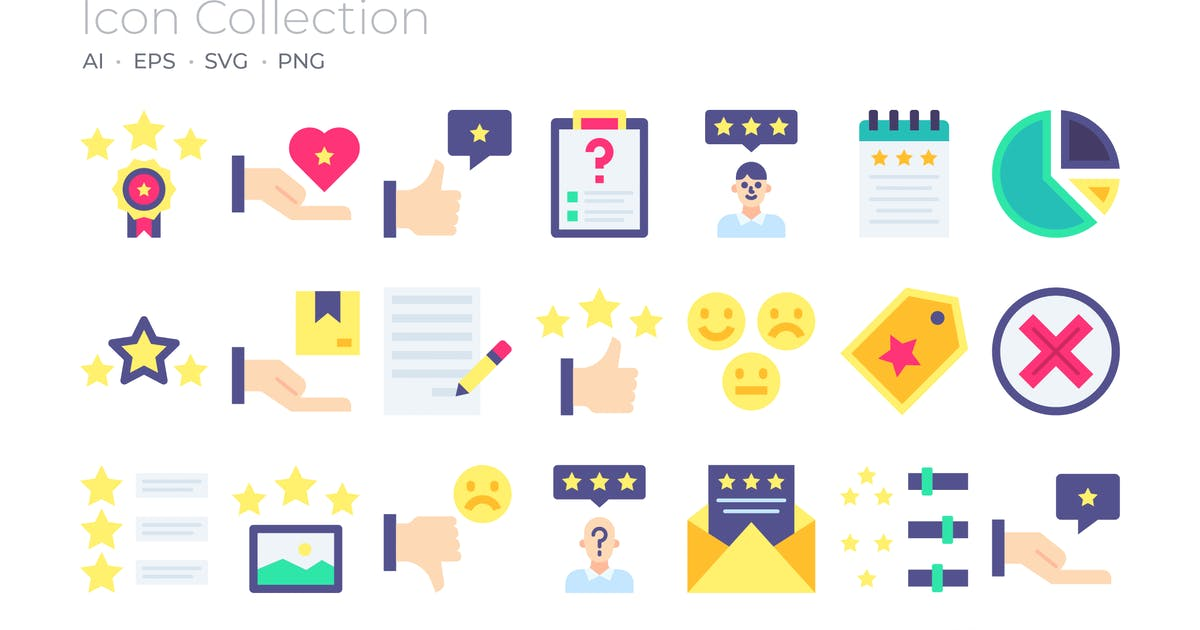 Download Customer Reviews Color Icon by GoodWare_Std
