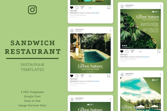 Resort-InstagramVorlage Beit