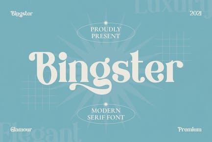 Bringster - Modern Serif Font