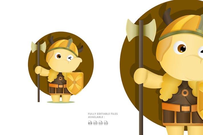 Thumbnail for Elephant Cartoon Illustration