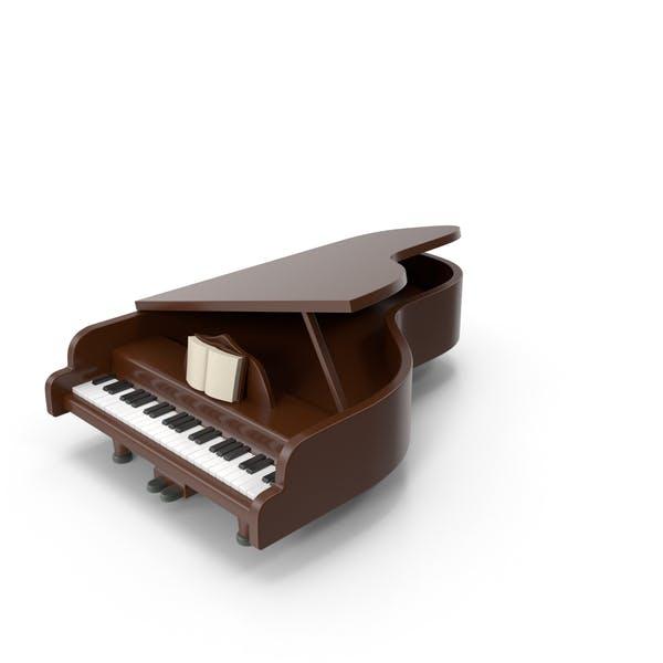 Cartoon Piano