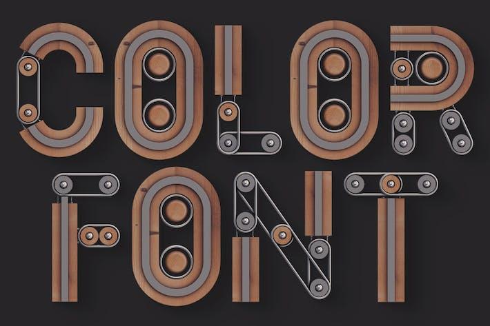 Creator - Color SVG Font
