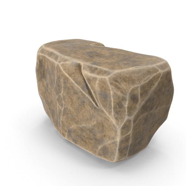Stone Brown Faceted