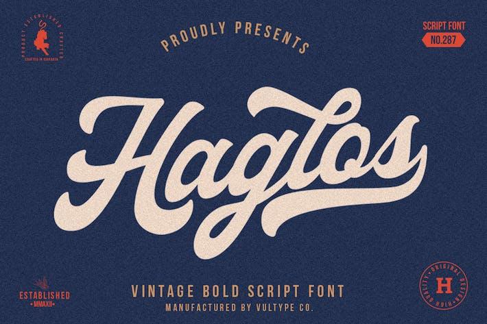 Thumbnail for Haglos Bold Script
